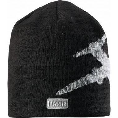 Зимняя шапка Lassie для мальчика (черный), 6-13 лет