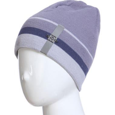 Весенняя шапка AGBO для мальчика FELIX (серый/синий), 9-14 лет