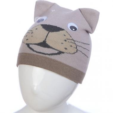 Весенняя шапка ANPA для мальчика ТИМ (фисташка), 1-2 года