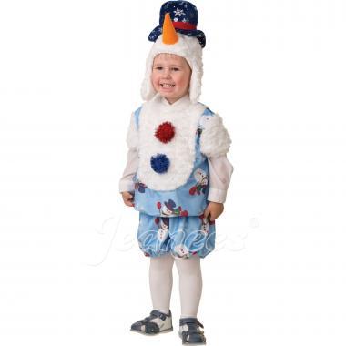 """Детский карнавальный костюм """"Снеговичок Снежник"""", 2-5 лет"""