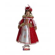 """Детский карнавальный костюм """"Королева Мушкетеров"""", 6-11 лет"""