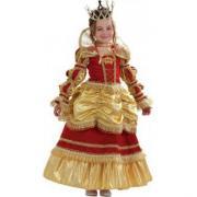 """Детский карнавальный костюм """"Королева Золотая"""", 4-12 лет"""