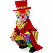 """Детский карнавальный костюм """"Клоун Франт"""" (красный) 6-11 лет"""