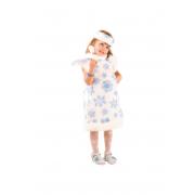 Детский карнавальный костюм СНЕЖИНКА, 5-6 лет