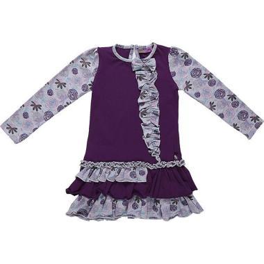 Платье для девочки Sweet Berry (фиолетовый), 3-8 лет