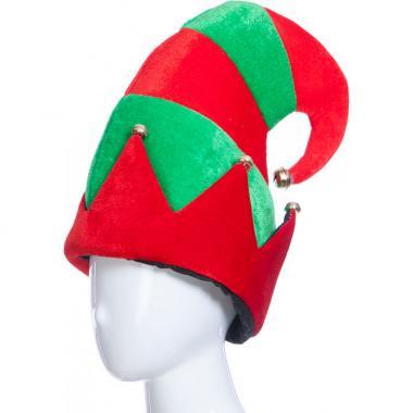 Карнавальная шляпа ИВАН ЦАРЕВИЧ (красный/зеленый), 12-60 лет