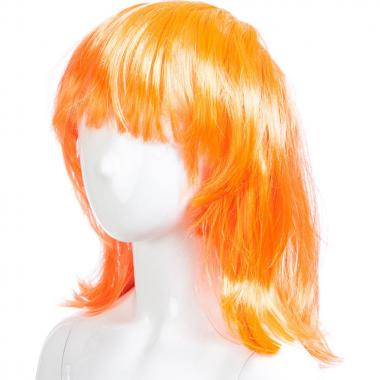 Парик карнавальный короткий ЛОЛА (оранжевый), 7-50 лет