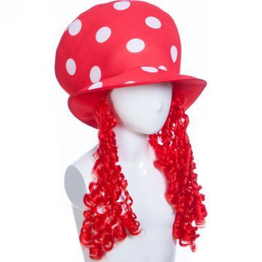 Карнавальная шляпа МУХОМОР (красная), 14-60 лет