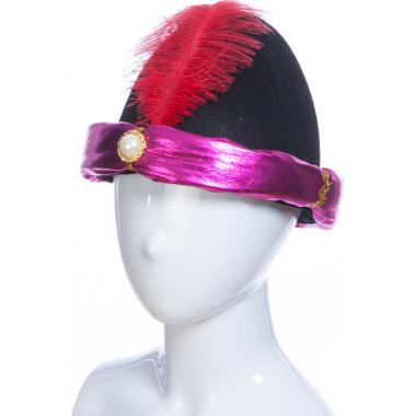 Карнавальная шляпа АЛЛАДИН (сиреневая), 14-60 лет