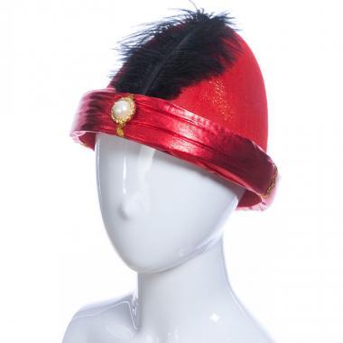 Карнавальная шляпа АЛЛАДИН (красная), 14-60 лет