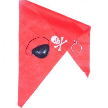 Комплект ПИРАТА (красный), 7-60 лет