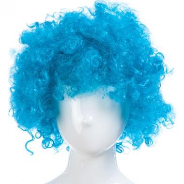 Парик карнавальный цветной СИМОНА (голубой), 7-50 лет