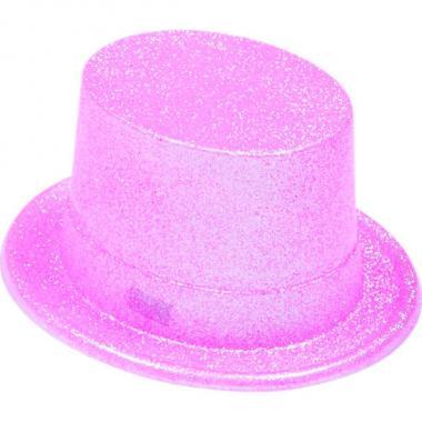Шляпа-цилиндр КАБАРЕ (розовая), 14-60 лет