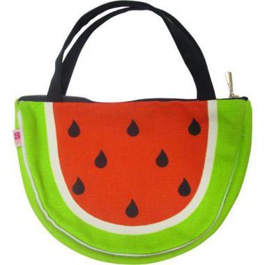 """Текстильная сумка """"Арбуз"""" Sweet Berry (зеленый)"""
