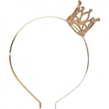 Ободок с короной Большой (золотой), 7-20 лет