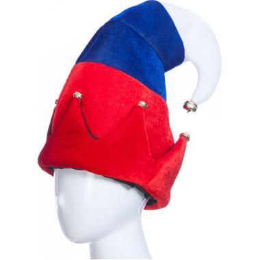 Карнавальная шляпа ИВАН ЦАРЕВИЧ (красный/синий), 12-60 лет