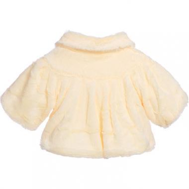 Нарядное болеро для девочки САБРИНА (шампань), 2-7 лет