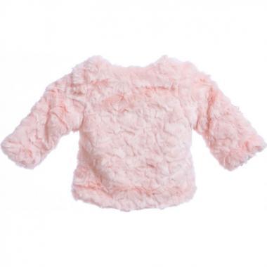 Нарядное болеро для девочки КАМИЛЛА (персик), 5-8 лет