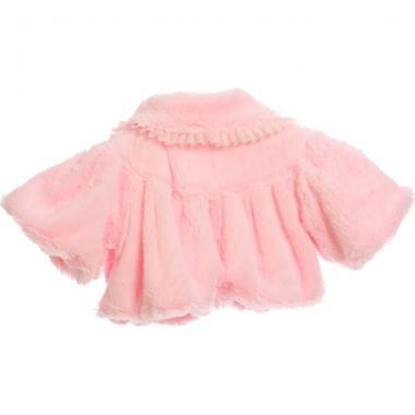 """Нарядное болеро для девочки """"Аврора"""" (розовое), 1-7 лет"""