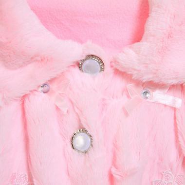 Нарядное болеро для девочки САБРИНА (розовый), 2-7 лет