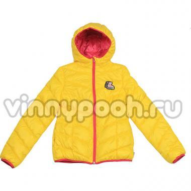 Весенняя куртка BOOM! by Orby для девочки (желтый), 3-13 лет