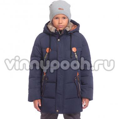Зимняя куртка Kiko для мальчика (синий), 10-15 лет