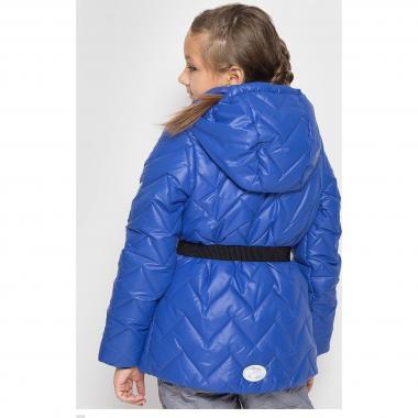Демисезонная куртка BOOM! by Orby для девочки (индиго), 6-13 лет