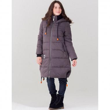 Зимняя парка для девочки JAN STEEN (темно-серый), 5-14 лет