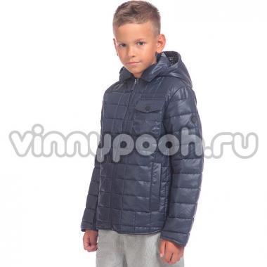 Демисезонная куртка-парка BOOM! by Orby для мальчика (т.синий), 3-15 лет