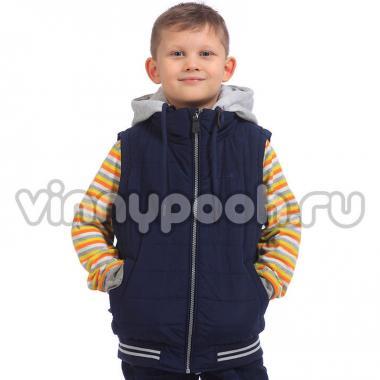 Модная весенняя куртка Kiko для мальчика (синий), 7-10 лет