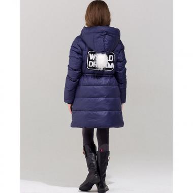Зимняя куртка-парка для девочки JAN STEEN (синий), 5-14 лет