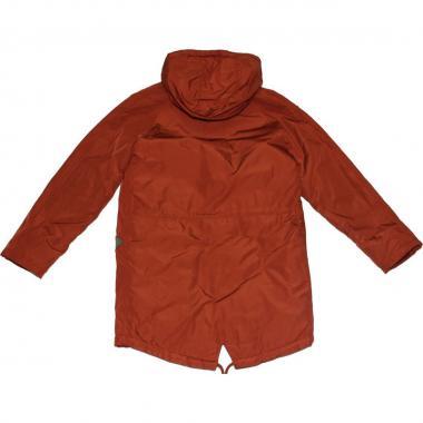 Модная весенняя куртка Kiko для мальчика (терракот), 6-10 лет