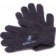 Зимние перчатки для мальчика SPORT (коричневые), 8-14 лет