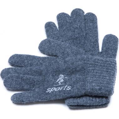 Зимние перчатки для мальчика SPORT (темно-серые), 8-14 лет
