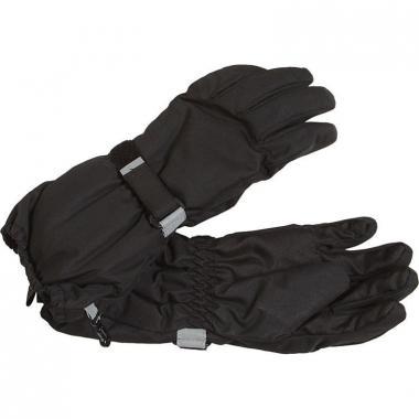 Зимние перчатки Lassie для мальчика (черные), 2-12 лет