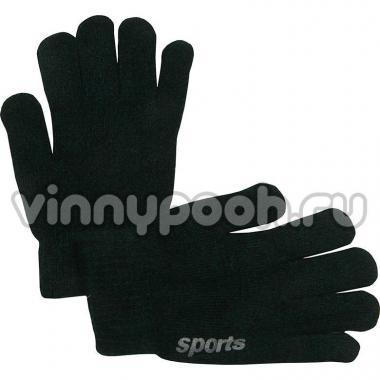 """Перчатки для мальчика """"SPORTS"""" (т.зеленый), 6-12 лет"""