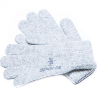 Зимние перчатки для мальчика SPORT (серые), 8-14 лет