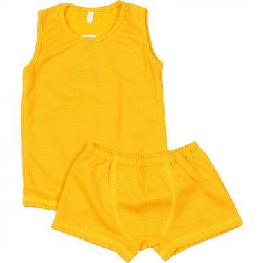 Термокомплект BONDINI для мальчика Super Dry (желтый), 1-8 лет
