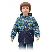 Демисезонная ветровка RUSLAND для мальчика (голубой), 4-8 лет