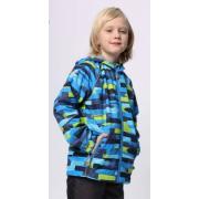 Ветровка SELEO для мальчика (т.синий/зеленый), 6-10 лет