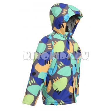 Весенняя куртка DISUMER для мальчика (серый/голубой), 5-9 лет