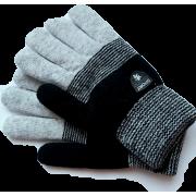 Зимние перчатки для мальчика DOCTOR (серый/черный), 8-12 лет