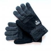 Зимние перчатки для мальчика DOCTOR (черный), 8-12 лет