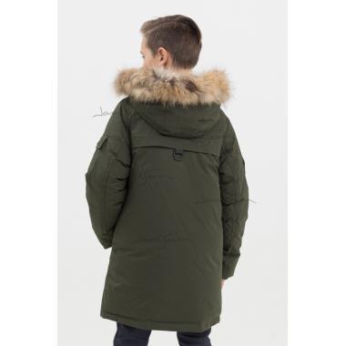 Зимняя куртка для мальчика JAN STEEN (хаки), 9-13 лет