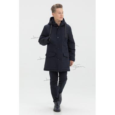 Зимняя куртка для мальчика JAN STEEN (темно-синий), 11-14 лет