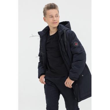 Зимняя куртка для мальчика JAN STEEN (темно-синий), 10-14 лет