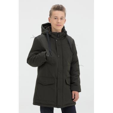 Зимняя куртка для мальчика JAN STEEN (хаки), 11-14 лет