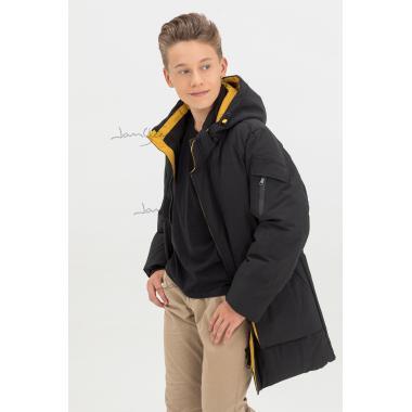 Зимняя куртка для мальчика JAN STEEN (черный), 11-14 лет