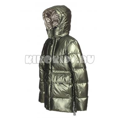 Зимняя куртка KIKO для мальчика МАКСИМ (хаки), 11-16 лет