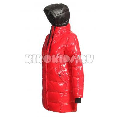 Зимнее пальто KIKO для девочки АЭЛИТА (красный), 11-15 лет